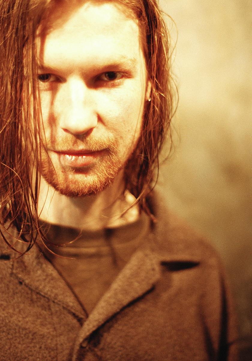 """Aphex Twin being all flirty. Shot in Hamburg."""
