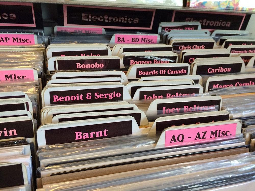 Barnt - Amoeba Records, Los Angeles