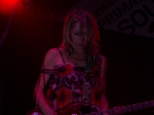 Kim Gordon of Sonic Youth, 2005 (Photo: Thomas Venker)