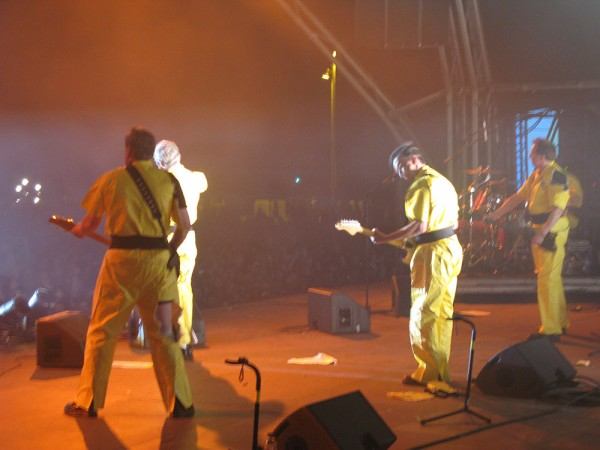 The one and only: Devo, 2008. (Photo: Thomas Venker)