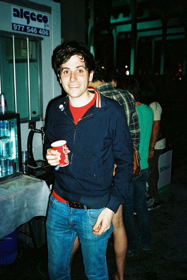 Kip Berman of The Pains Of being Pure At Heart, 2009. (Photo: Thomas Venker)