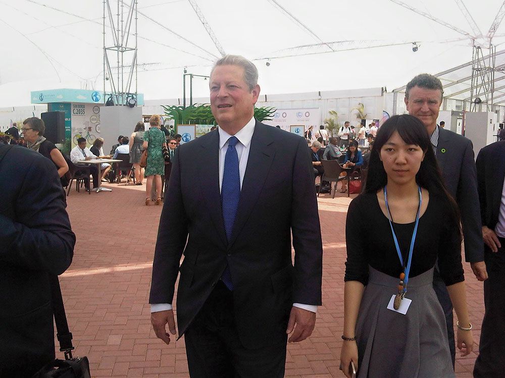 Al Gore (Photo: Sabine Minninger)