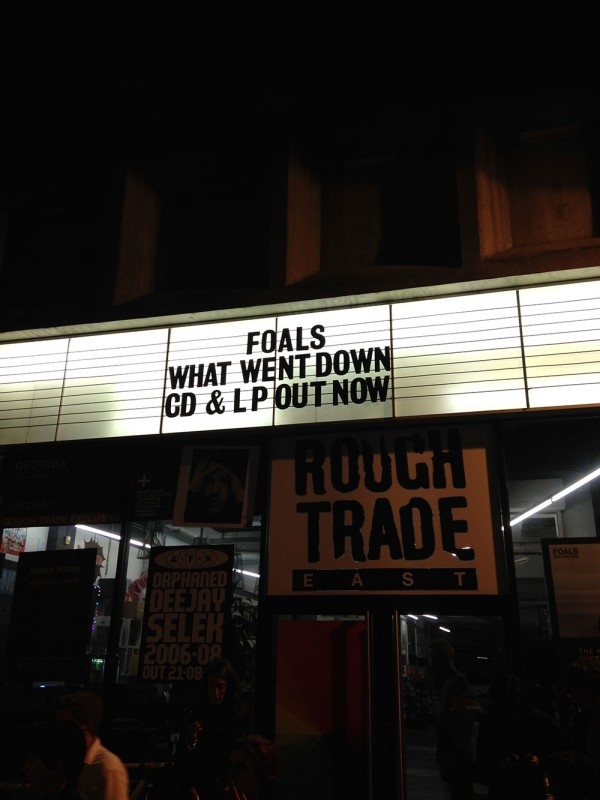 Rough Trade, London, UK, 28.8.2015