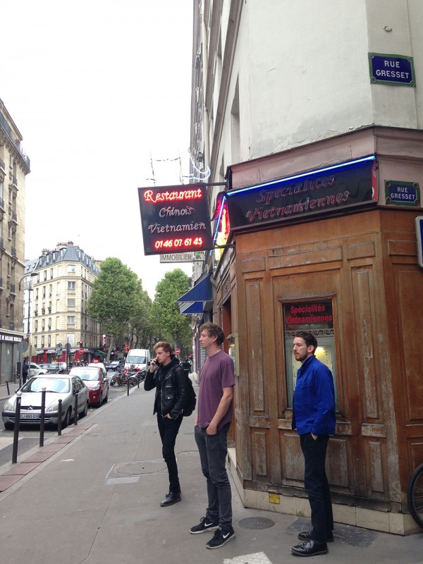 Cabernet Sauvage, Paris, 4.9.2015 (15th concert of the tour!)