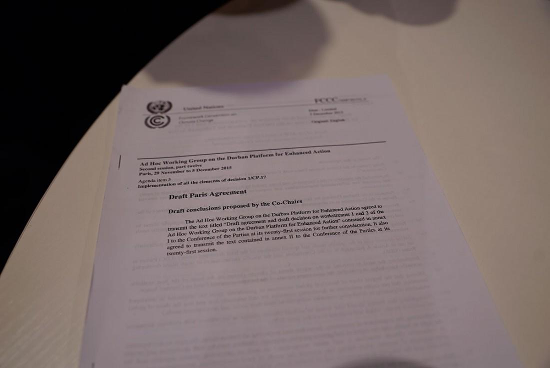 Draft Paris Agreement