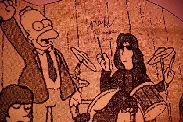 Rock'n'Roll High School: Homer und Marky Ramone