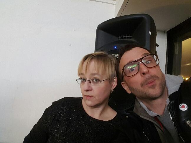 Dreamteam of the Frühling: Christina Mohr und Linus Volkmann von kaput