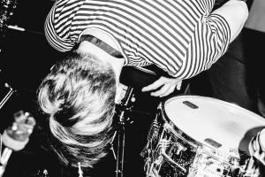 Paul Pötsch, Trümmer, Percussions (Foto: Robin Hinsch)