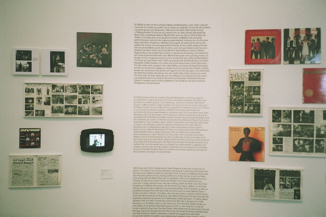"A so called ""Punk"" exhibition at MACBA"