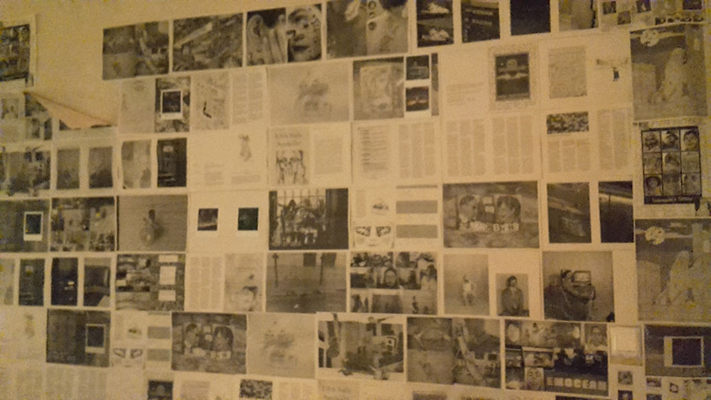 A wall inside Das Gift