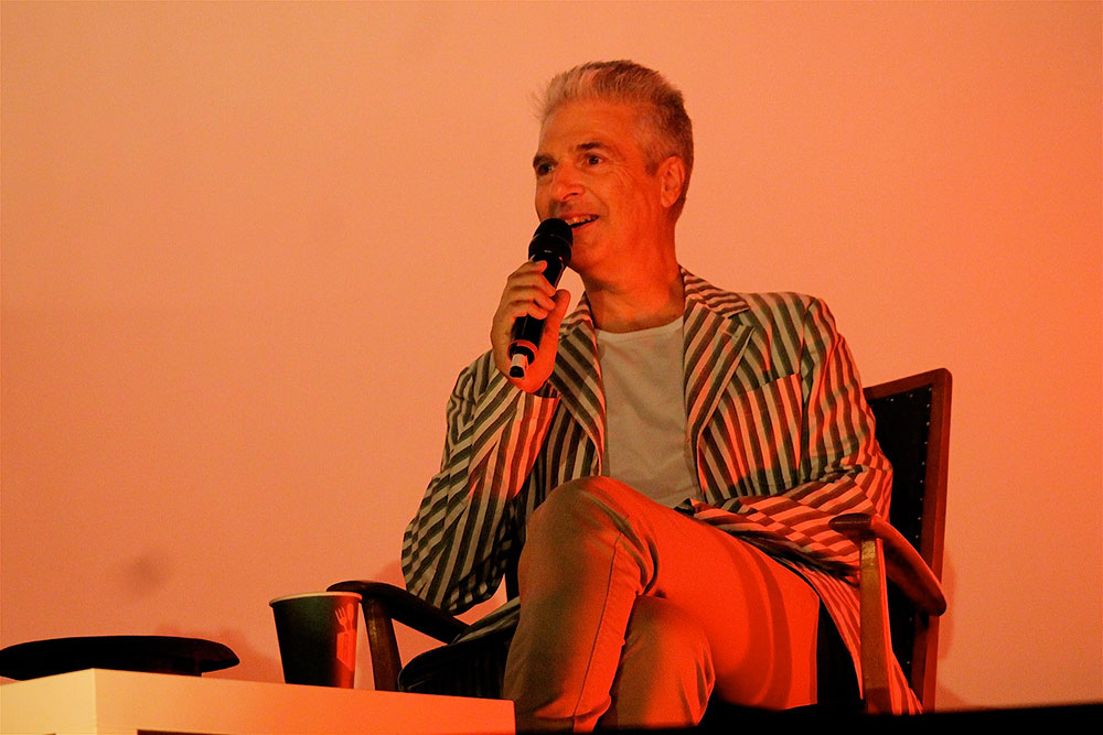 Jon Savage at Pop-Kultur Festival by Annett Bonkowski