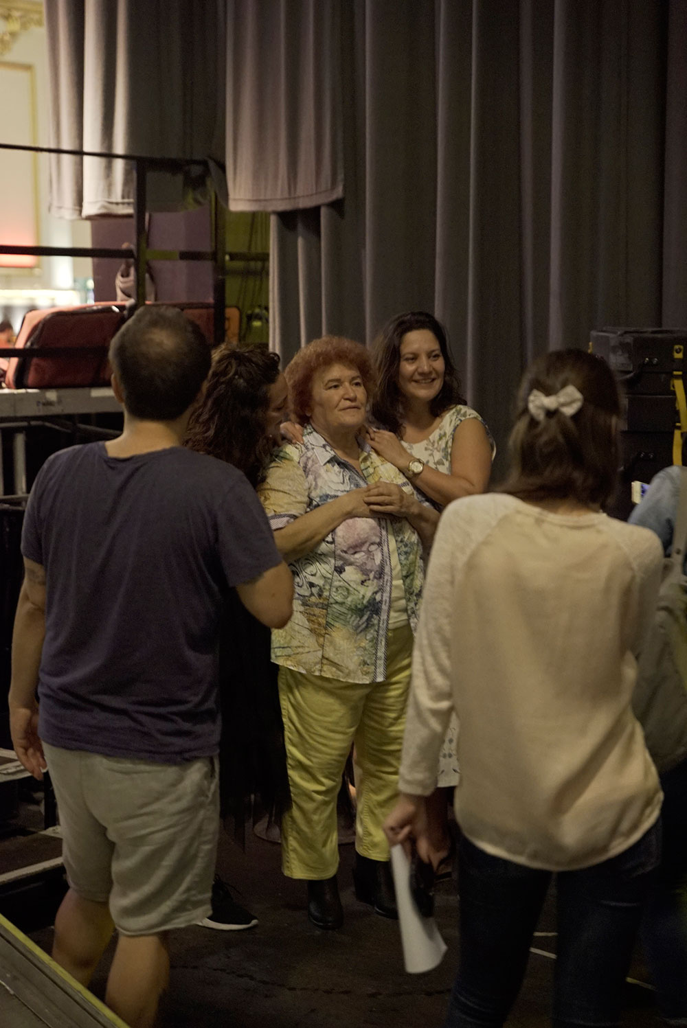 Selda Bağcan & Fans at Pop-Kultur Festival by Thomas Venker