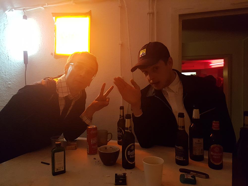 Linus Volkmann & Carlo der Landstreicher