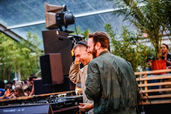 Joy Orbison & Jon K (Photo Bart Heemskerk)