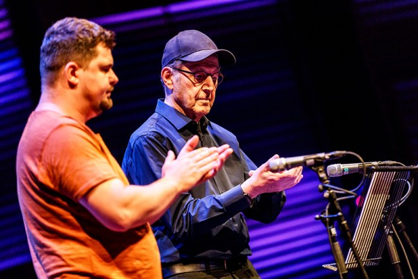 Steve Reich (Photo Bart Heemskerk)