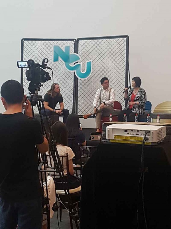 """Highlander times at NEU CHINA: """"Everybody in this room will  get at least 100 years old"""""""