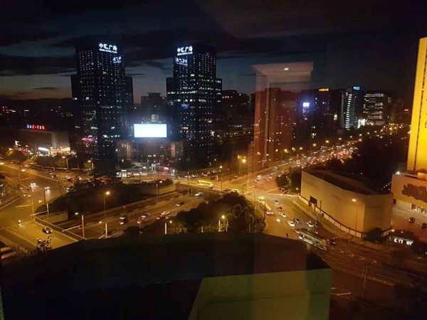 Night over Beijing
