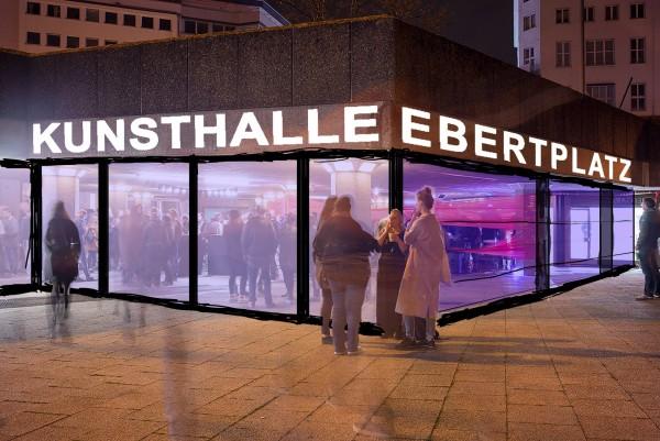 Kunsthalle Ebertplatz by Jonathan Haehn