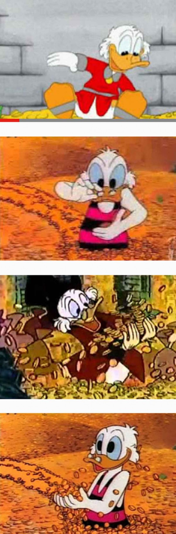Uncle-Scrooge–Money-Swimming