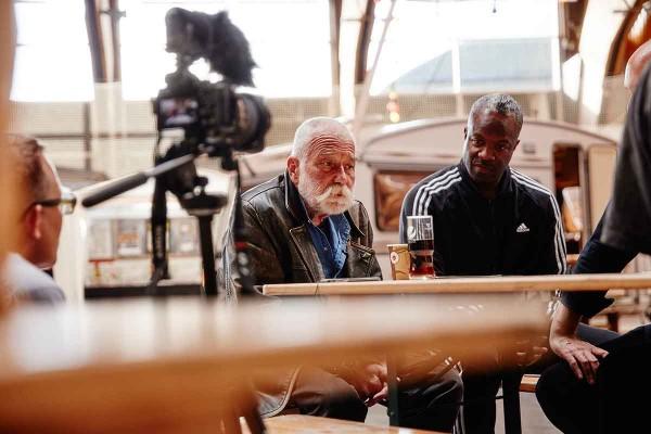 Peter Brötzmann & Eugene Robinson (Photo: Rainer Holz)