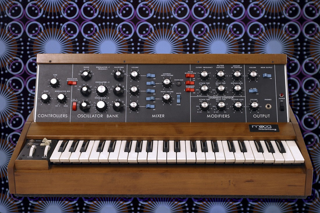 """""""Machines, what would life be without them… This photo was taken in the so called Synthesizerstudio. Hamburg´s very own Minimoog and my breakfast plate."""""""