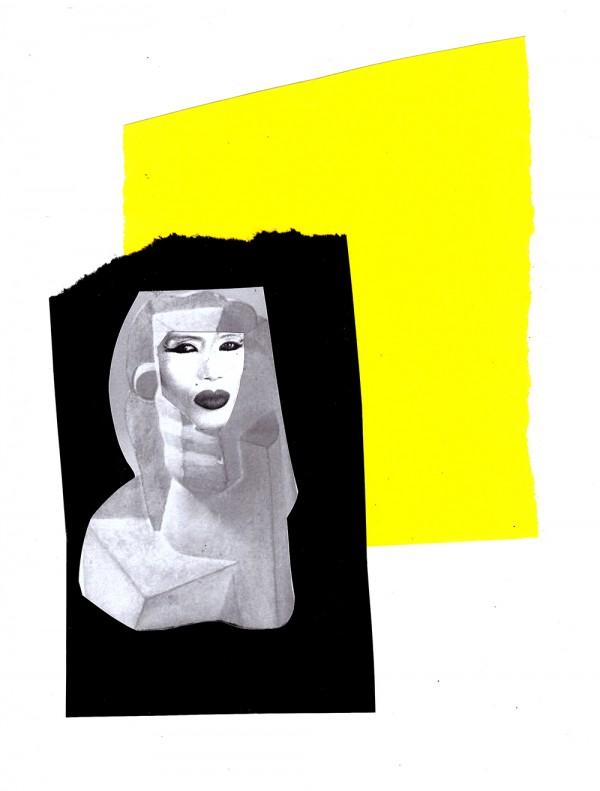 Grace Jones 2 (Collage: Sarah Szczesny)