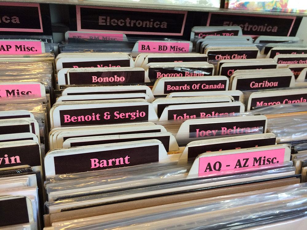 Barnt - Amoeba Records, Los Angeles