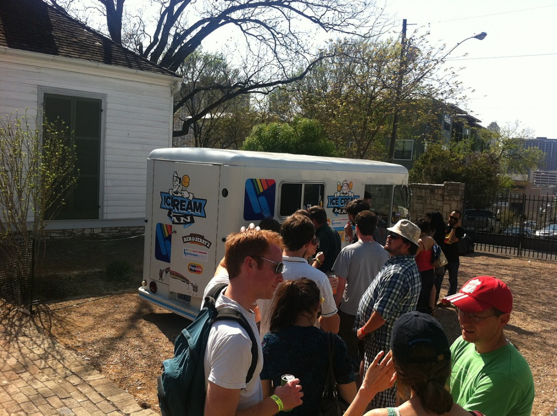 The one and only Icecream Man, 2011
