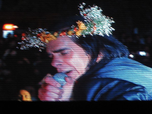 If you missed Nick Cave on stage in the last years, you missed the best entertainer in the world in action. 2013. (Photo: Sarah Szczesny)