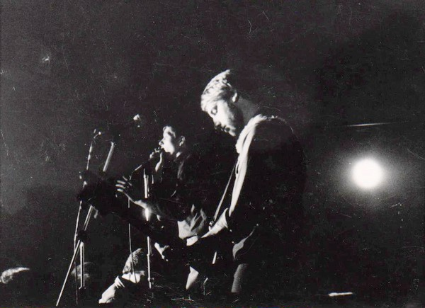 JoyDivision, 21.1.1980, Berlin (Photo: Mark Reeder)