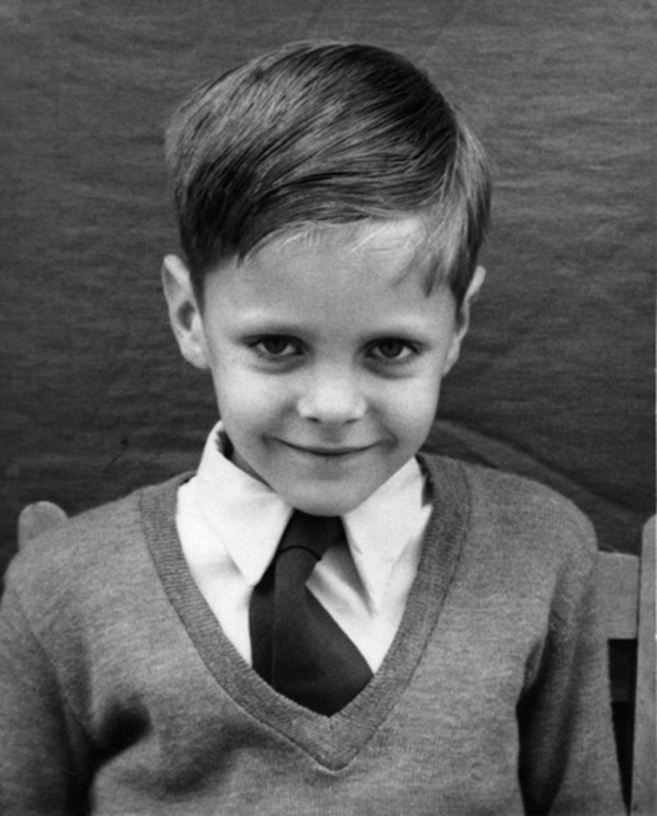 The very young Genesis P - Orridge