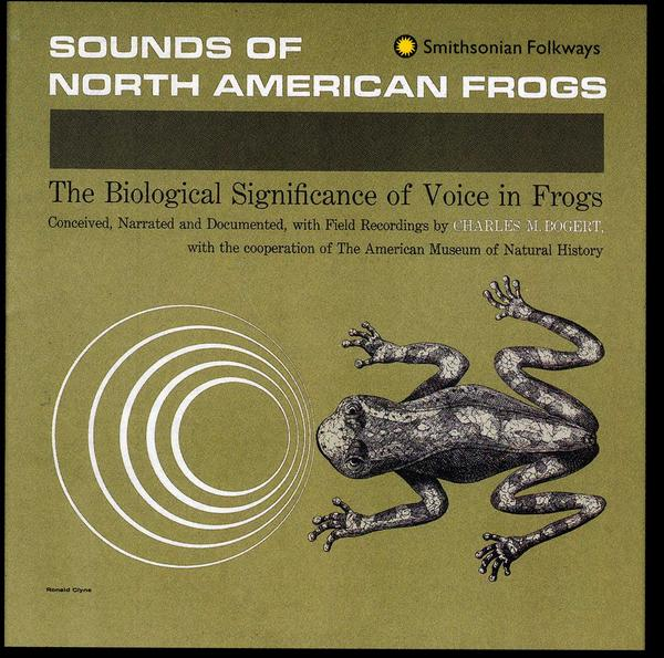 "Various ""Sounds of north american frogs"""