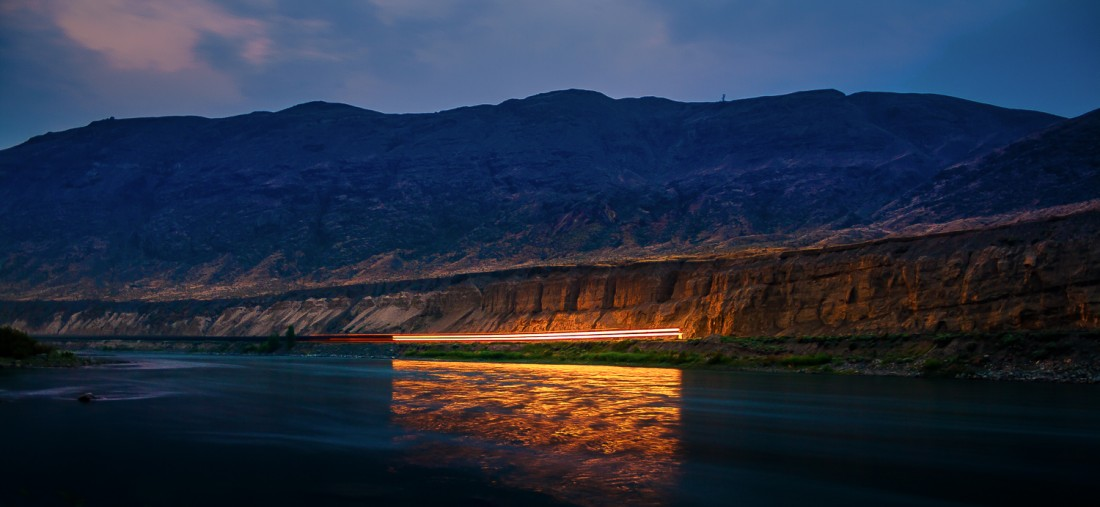 Tomas Jirku (photo) - 12. Thompson River, Night Train to Troutville_