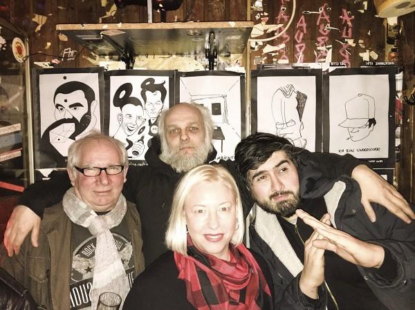 Boris Dlugosch & Dietroiter im Golden Pudel Club. Hamburg