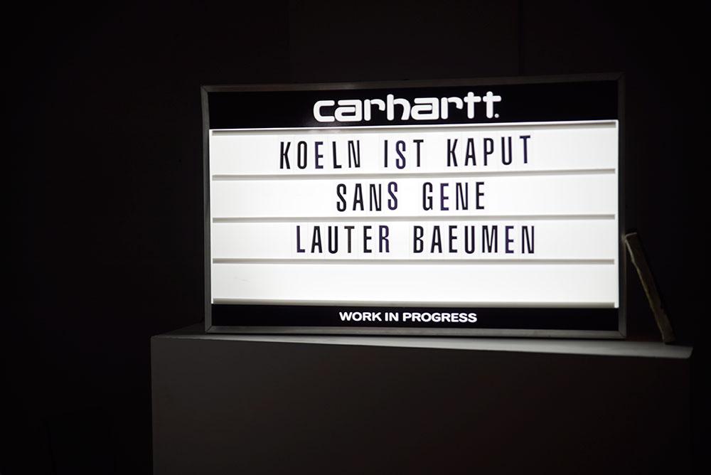 Sans Gene + Lauter Bäumen = Köln ist Kaput III