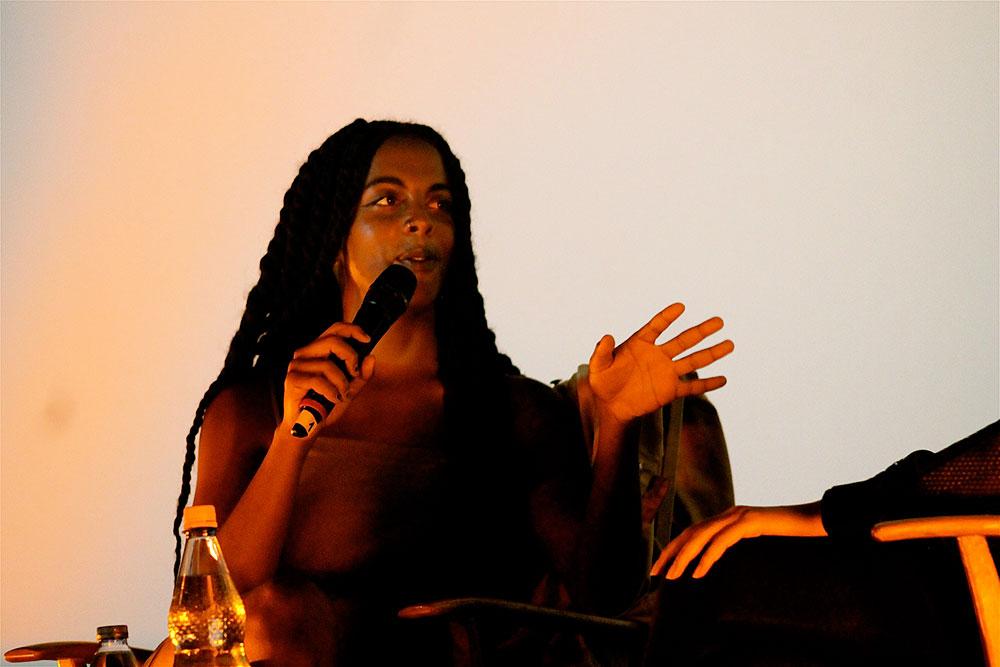 Juliana Huxtable at Pop-Kultur Festival by Annett Bonkowski