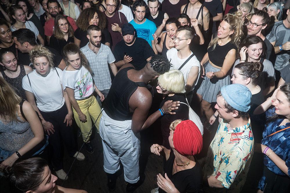 Zebra Katz at Pop-Kultur Festival by Janto Djassi