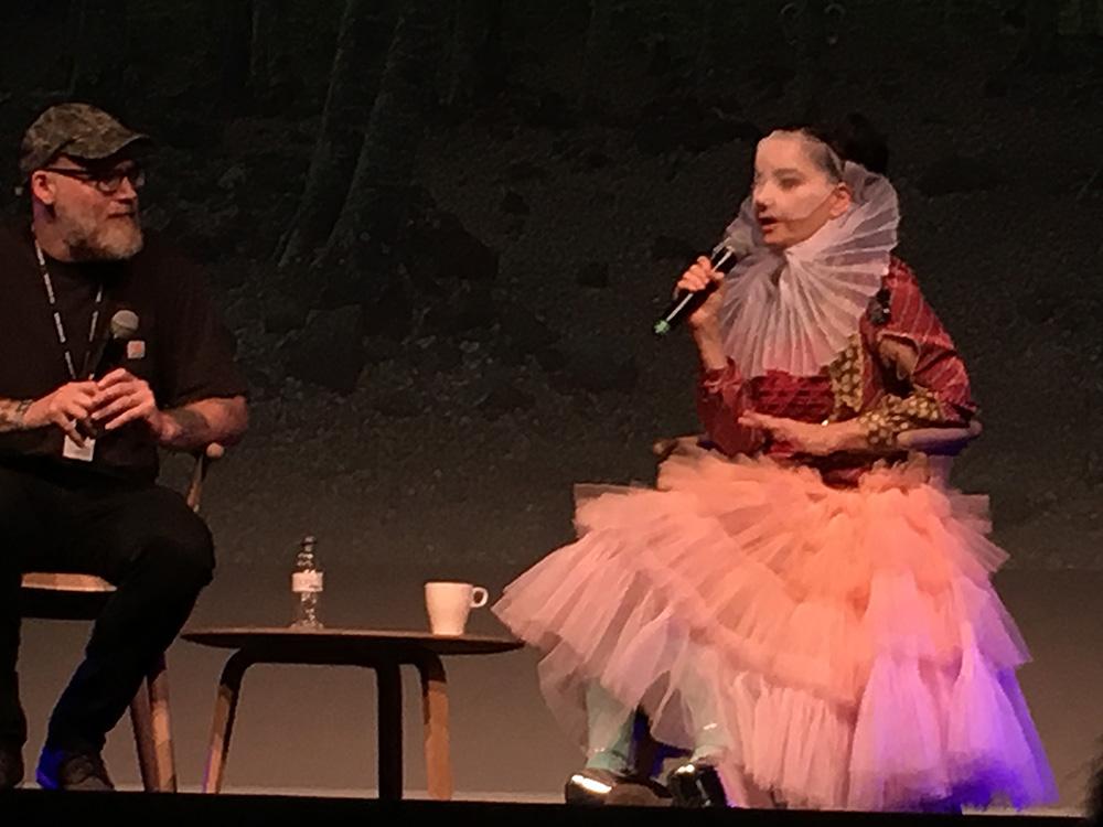 Björk in conversation