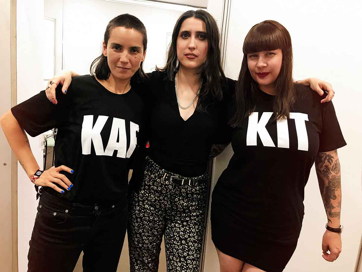 Stop the news: Kim Ann Foxman, Helena Hauff and Miss Kittin