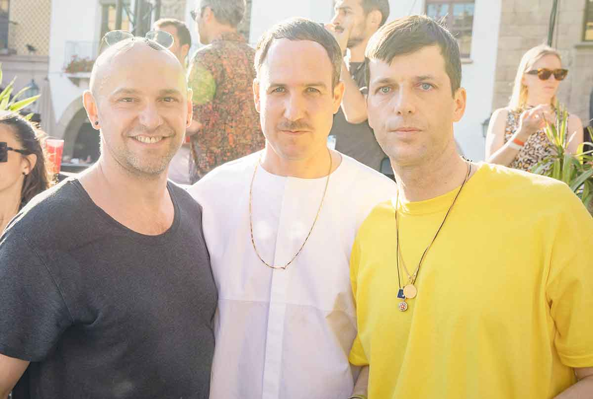 Sonar is always a mix of the official programme and the Off-Sonar happenings – and the Innervisions party is the most important of them. Katja managed to catch  Âme and Dixon before their b2b set.
