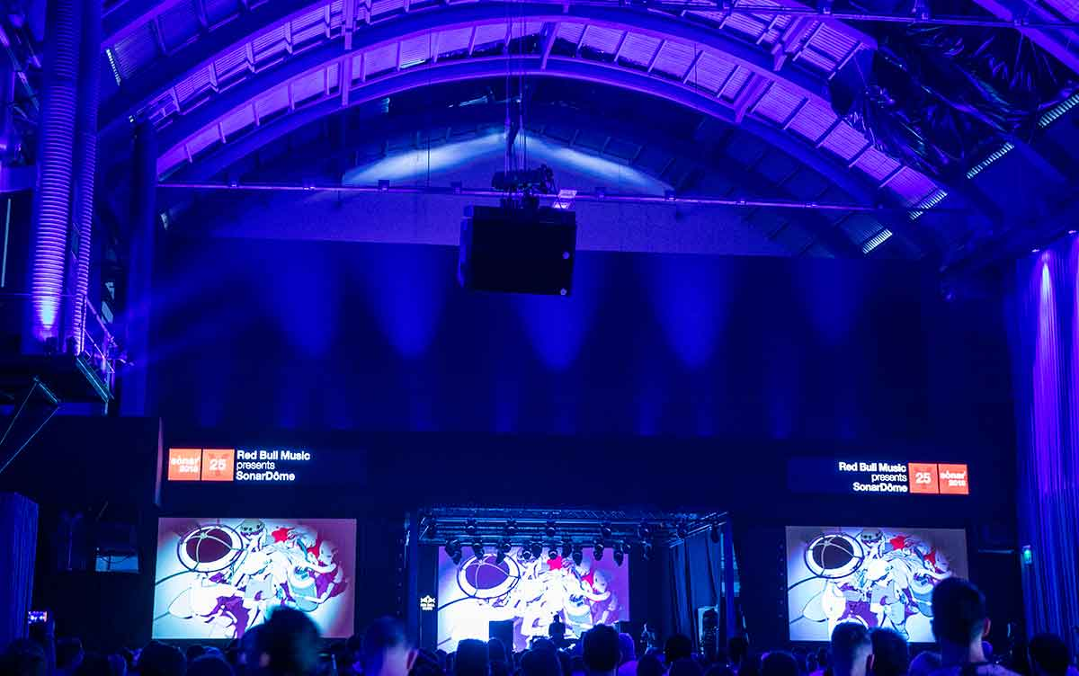 Kode9 teamed up with Kōji Morimoto for Sonar.