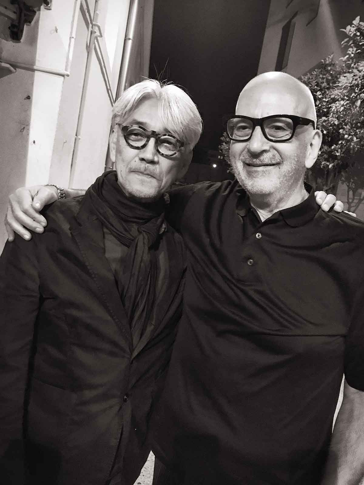 Meeting of the legends: Ryūichi Sakamoto and Daniel Miller