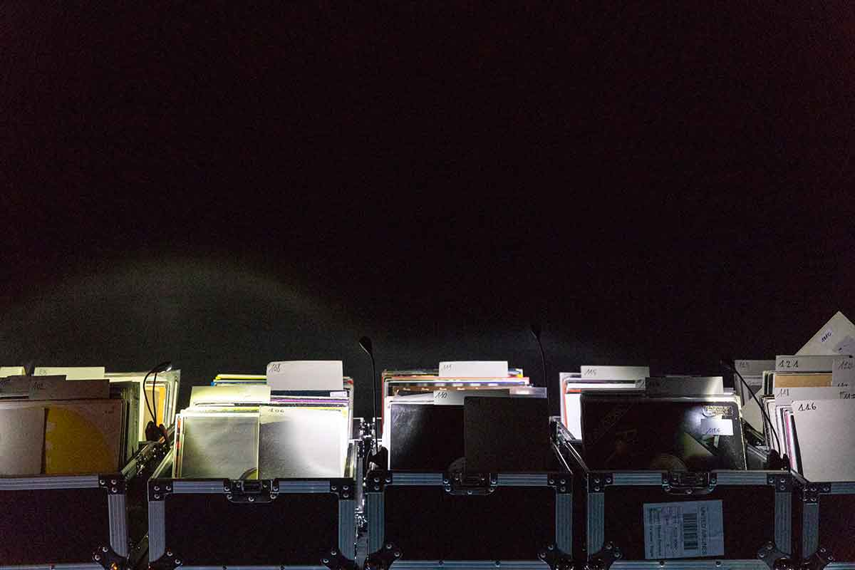 One of this years highlights, James Murphy and 2manydjs