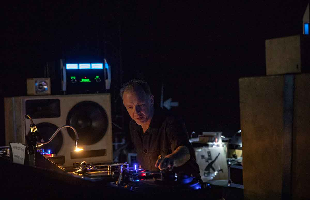playing every day a six hour dj set